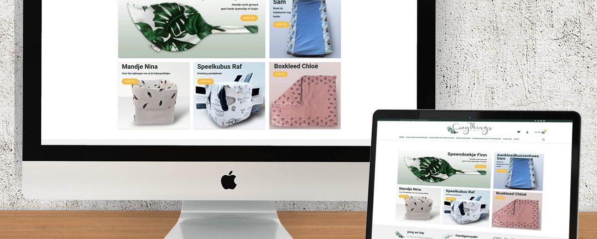 portfolio webshop design